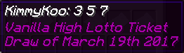 Example of properly named Lotto ticket